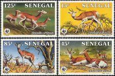Senegal 1986 WWF/N'dama Gazelle/Animals/Nature/Wildlife/Conservation 4v (n44291)