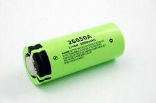 Batteria battery  ricaricabile Panasonic 26650 A 5000mAh 3.7V litio 1 pezzo