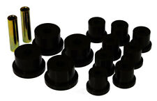Prothane for 64-73 Ford Mustang Rear Spring & 1/2in Shackle Bushings - Black - p