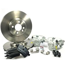 FRONT BRAKE PADS CALIPERS & DISCS FIT MINI COOPER S R55 R56 R57 R58 R59 BBK0104B