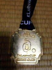 Very Rare ! Jiu Jitsu Dela heba cup Gold Medal, Judo Silver Medal 2 pieces
