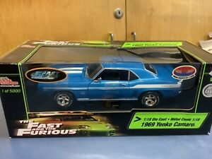 Fast and Furious Brians 1969 Yenko Camaro 2 fast 2 furious supercar collectibes