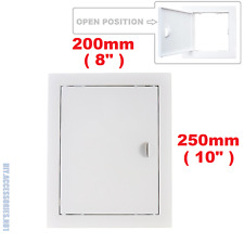 Access Panel Fit Hole 200 x 250 mm  White Inspection Hatch Door With Pull Handle