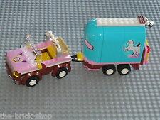 Voiture + remorque pour cheval LEGO FRIENDS / Set 3186 Emma's Horse Trailer