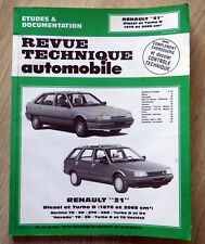 RTA Revue Technique Automobile (06-1993) RENAULT 21 DIESEL ET TURBO D