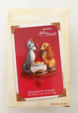 DISNEYS LADY AND THE TRAMP Ornament by Hallmark Spaghetti Supper In Box