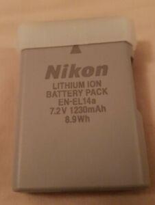 Genuine NIKON EN-EL14a Battery D3100 D3200 D5100 D5200 P7000 P7100 P7700