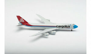 """HERPA 534895 Boeing 747 8F - CARGOLUX - """"NOT WITHOUT MY MASK 1/500"""