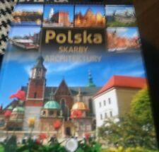 Polska Skarby Architektury (Polish) Hardcover POLAND ARCHITECTURE BOOK