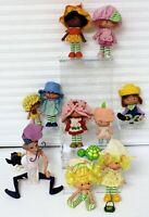 Strawberry Shortcake 9 Dolls+Purple Pie Man w/ Berry Bird Scent & Turtle Vintage
