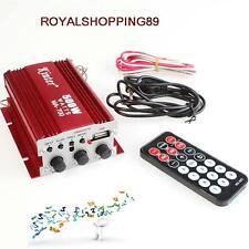 Amplificatore Auto 500W 2 Canali Kinter MA-700 12V FM USB Mp3 2 canali stereo