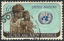 PNG 1965  6d United Nations FU  (11)  Staining, space filler