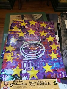 U2 Zooropa Original Music Store Poster 24by24 Rare HTF Poster