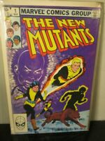 New Mutants # 1 Marvel (1983) 1st Issue Chris Claremont BAGGED BOARDED~