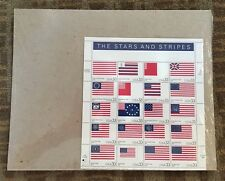 USPS-sealed US SCOTT 3403 PANE OF 20 THE STARS AND STRIPES 33 CENTS STAMPS MNH