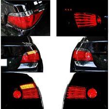 For 2004-07 BMW E60 5-Series Red/Smoke Lens LED Light Bar Tail Lights Brake Pair