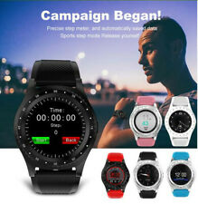 Bluetooth Smartwatch Fitness Monitor Support SIM Card Watch for Android IOS