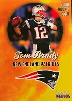 Tom Brady 2000 New England Patriots Michigan Wolverines Rookie Card RARE RC