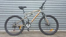 NEW SUPERFLY MTB 21 Speed Dual Suspension Mountain Bike - MATT GREY