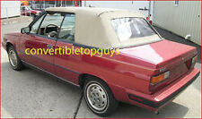 RENAULT ALLIANCE CONVERTIBLE TOP DIY PACKAGE: 1984-87 RENAULT ALLIANCE