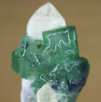 31 g Natural Rare Green Cube Fluorite Crystal Mineral Specimen/China