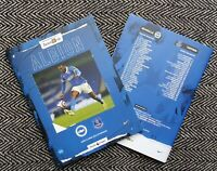 Brighton & Hove Albion v Everton PREMIER LEAGUE Programme 12/4/21 READY TO POST!