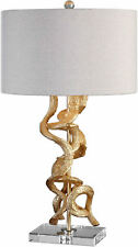 Twisted Vines Gold Contemporary Table Lamp by Uttermost #27113-1