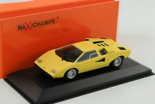 Lamborghini Countach amarillo 1971 1 43 Maxichamps Minichamps