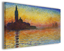 Quadro moderno Claude Monet vol XVIII stampa su tela canvas pittori famosi