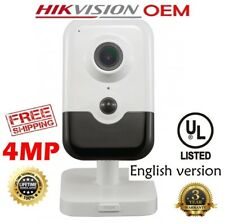Hikvision(OEM) DS-2CD2443G0-IS(NC324-CU-2.8)4MP POE IR WIFI IP CUBE Camera 2.8MM