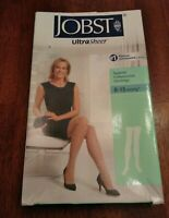 JOBST UltraSheer Support Compression Stockings 8-15 mmHg* Large Silky Beige 1