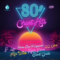 CD 80s Chart Hits von Various Artists 2CDs