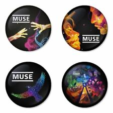 Muse - 4 chapas, pin, badge, button