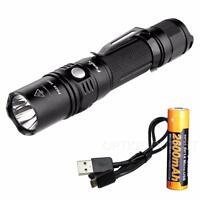 Fenix PD35 TAC TACTICAL 1000 Lumen Flashlight w/ Rechargeable 18650 Battery