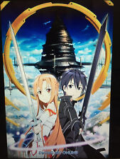 SWORT ART ONLINE 24X36 POSTER JAPAN TV SERIES ILLUSTRATION CARTOON VIRTUAL FUN!!