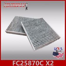 FC25870C(CARBON)(X2) OEM QUALITY CABIN AIR FILTER: EX35 EX37 FX35 FX37 & FX50