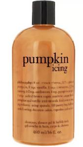 Philosophy Pumpkin Icing 3 in 1 Shower Gel Body Wash 16 oz