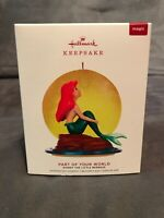 2019 Hallmark Keepsake Disney Part of Your World Little Mermaid Ornament ~ NIB