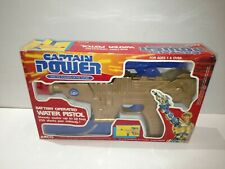 VINTAGE ARCO CAPTAIN POWER BATTERY OPERATED WATER PISTOL IN BOX