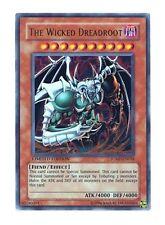 Yugioh JUMP-EN018 The Wicked Dreadroot Shonen Jump Ultra Rare Promo Card