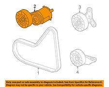 VW VOLKSWAGEN OEM 09-14 Jetta-Serpentine Fan Belt Tensioner 07K903315T