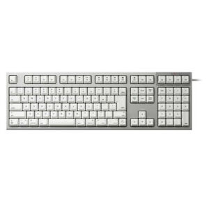 Topre R2-JPVM-WH Silver/white Realforce for Mac Full Keyboard Japanese 114 Array