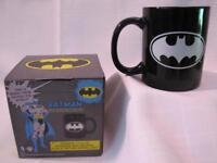 GLOW IN THE DARK BATMAN DC COMICS 10 oz MUG CUP Justice League NEW