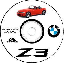 Workshop Manual,Manuale Officina Bmw Z3 + risoluzione problemi elettrici