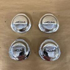 Original Jaguar XKE E-Type Continental Style Spinner Knock-off Set of 4 OEM