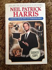 Neil Patrick Harris Signed Autographed Choose Your Own Autobiography hard Book