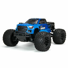Arrma Granite 1/10 Scale 4x4 Mega Rc Remote Control Monster Truck Rtr Blue Black