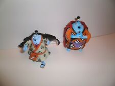 Lot 2 Figurines ONE PIECE: JINBEI (tailles: 10,5cm & 8cm) BANDAI Trading Figures