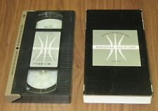 Japan OFFICIAL VHS video tape MADONNA card box issue RAY OF LIGHT 1 track - NTSC