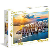 CLEMENTONI - PUZZLE 500 PEZZI NEW YORK 35038 HIGH QUALITY COLLECTION PANORAMA
